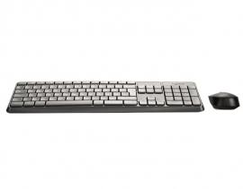 Logitech MK235 Kabelloses Tastatur-Maus-Set, 2.4 GHz Verbindung via USB-Empfänger QWERTZ Deutsch