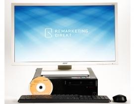 Home Office Komplettpaket 2: ThinkCentre M93p WINDOWS 10 + Monitor 61 cm (24