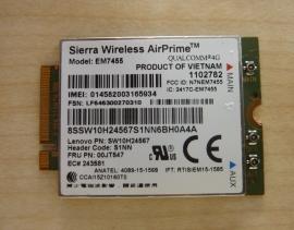 WWAN LTE 4G Sierra Wireless EM7455 für X260 P70 T460 T460s T560 X1 Carbon 00JT542