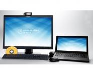Home Office Komplettpaket 6: ThinkPad T450 8 GB 128 GB SSD WINDOWS 10 + Dockingstation + Monitor 56 cm (22